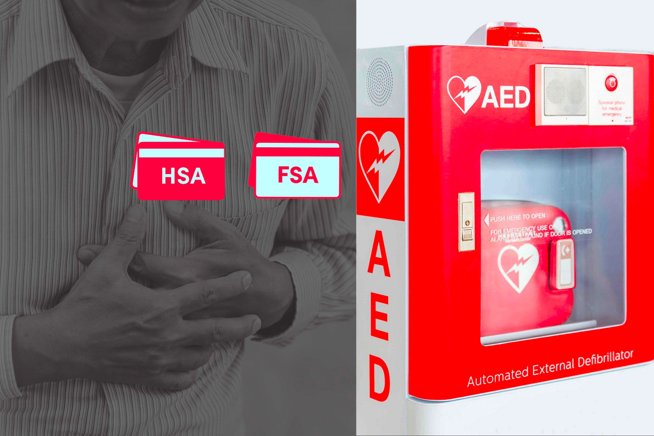 You can buy an AED with your HSA or FSA