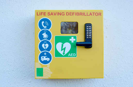 What are the dangers of a defibrillator