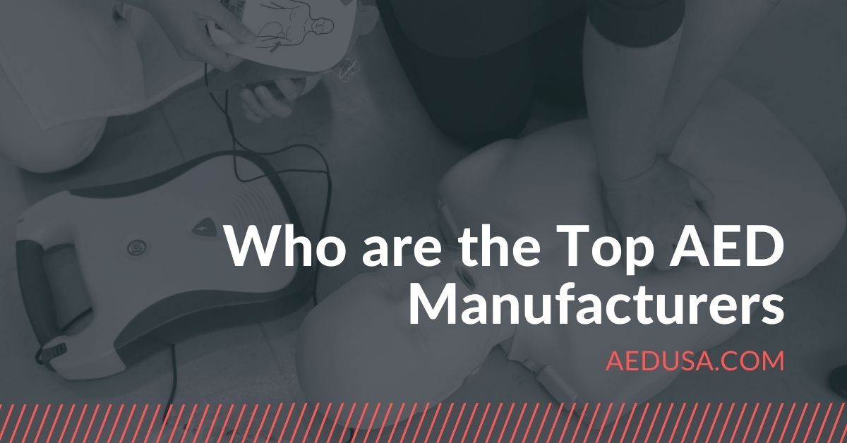 Who are the Top AED Manufacturers