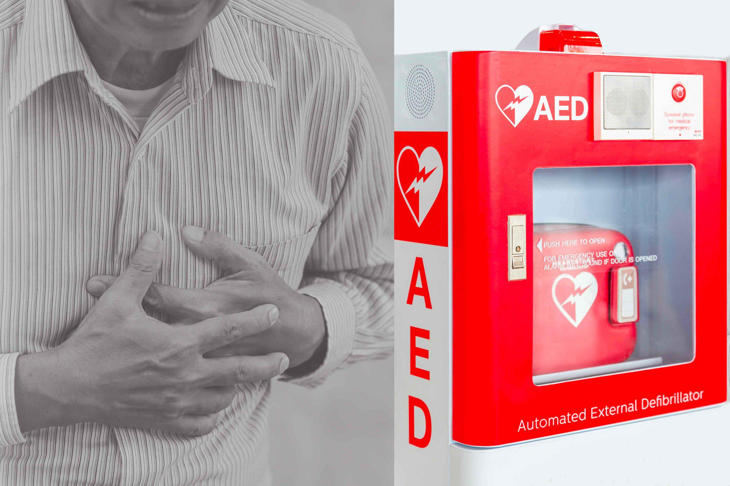 The importance of having an AED and accessories at home in Garland