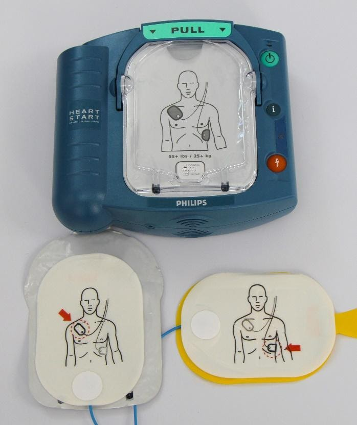 Using AEDs to restart a stopped heart