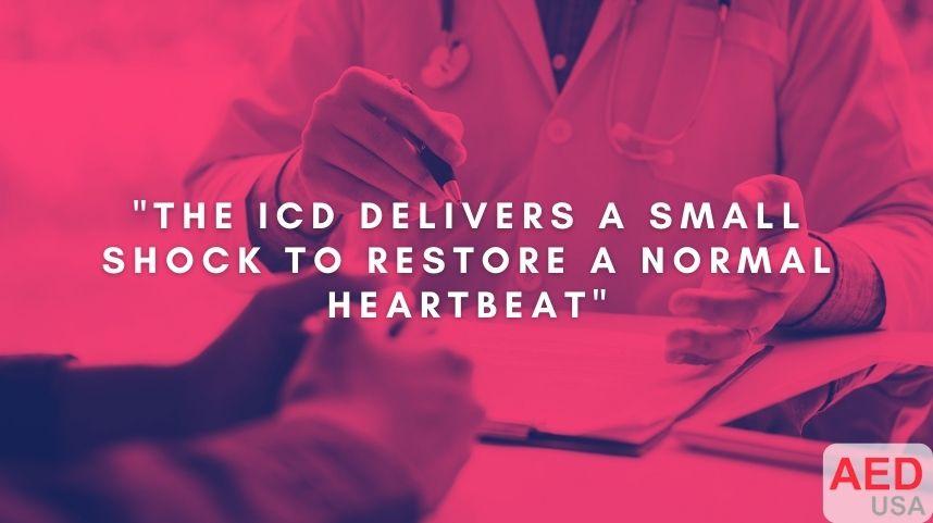 ICD Shock side effects