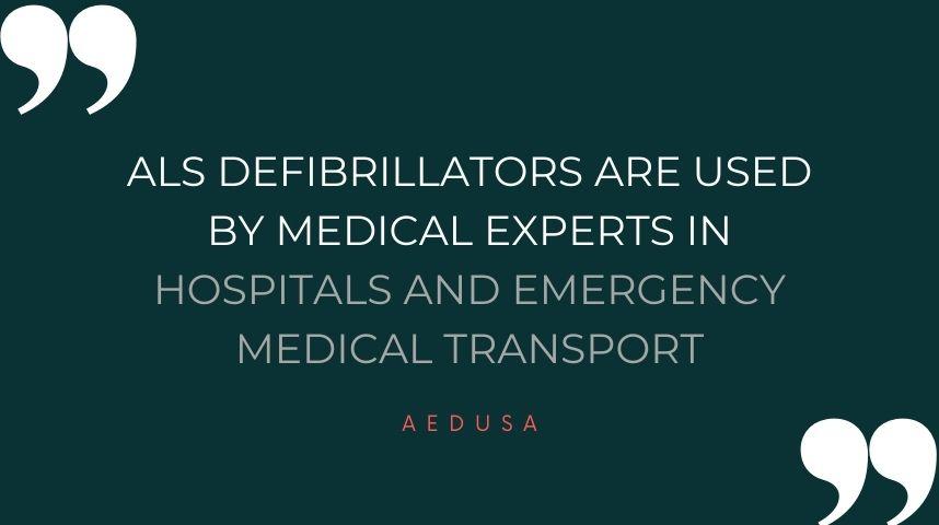 Advanced Life Support Defibrillators