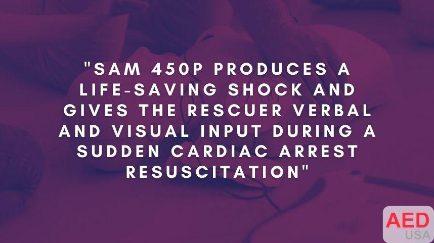 HeartSine Samaritan 450P AED Aviation