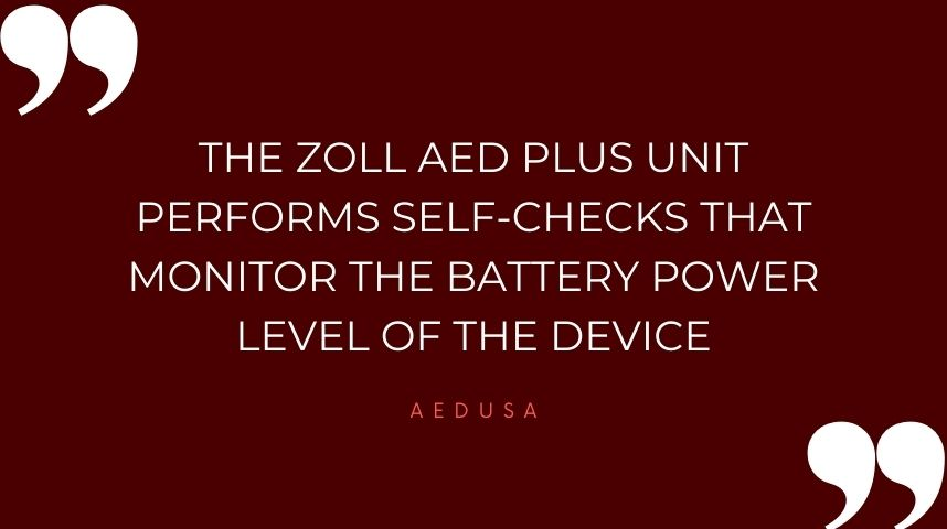 How Do I Test My ZOLL AED Plus Battery