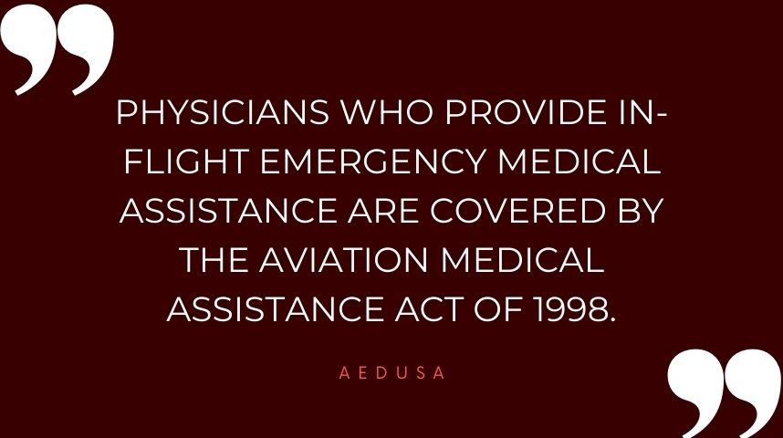 Liability of Medical Treatment on Flights