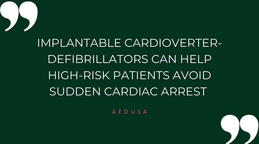 Purpose of a Cardioverter-Defibrillator
