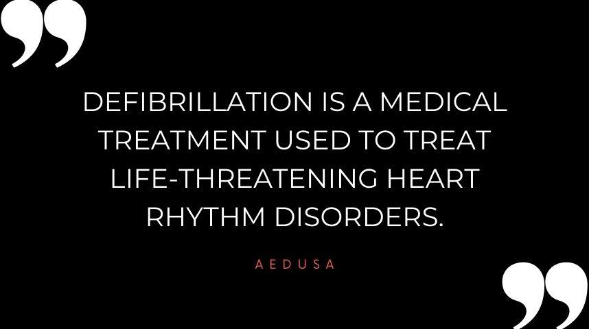 What is Defibrillation