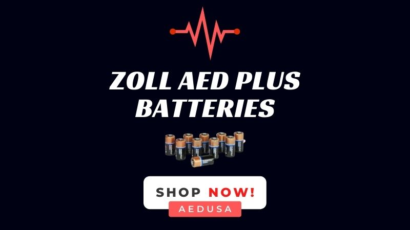 ZOLL AED Plus Battery