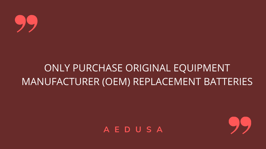 Buy Original OEM AED Batteries
