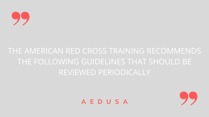 What to do when preparing the AED