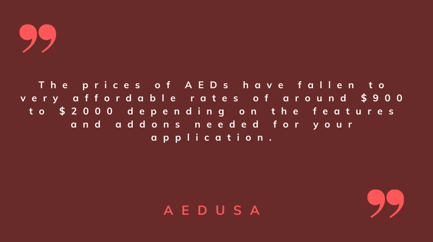 AED Pricing