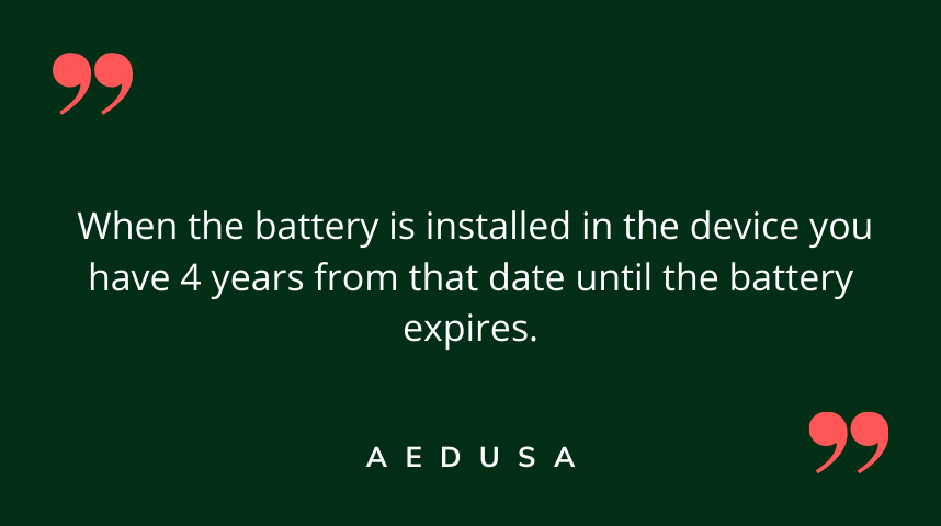 Date Battery is Installed