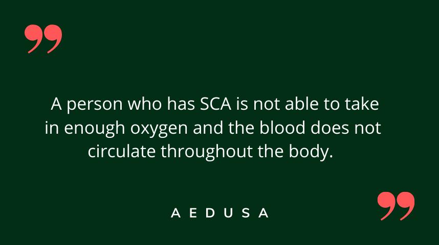 Definition of Sudden Cardiac Arrest (SCA)
