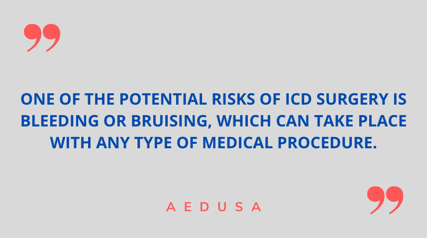 Risks of ICD Surgery