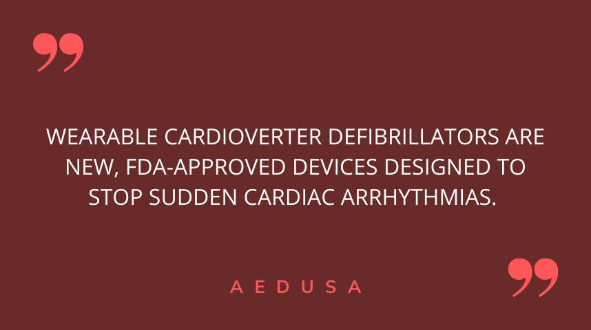 Wearable Cardioverter Defibrillator (WCD)